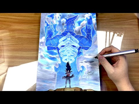 Drawing MADARA UCHIHA SUSANOO [NARUTO]