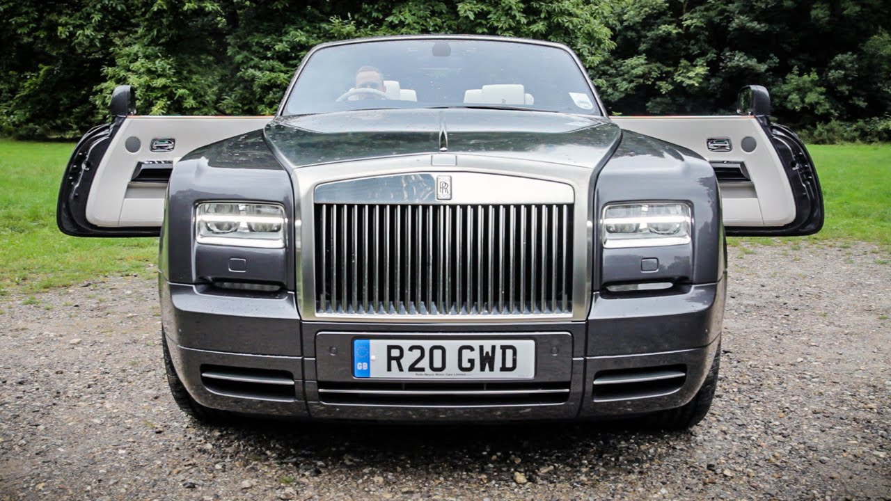 10 Things That Make The Phantom Drophead Ultimate Baller S Car