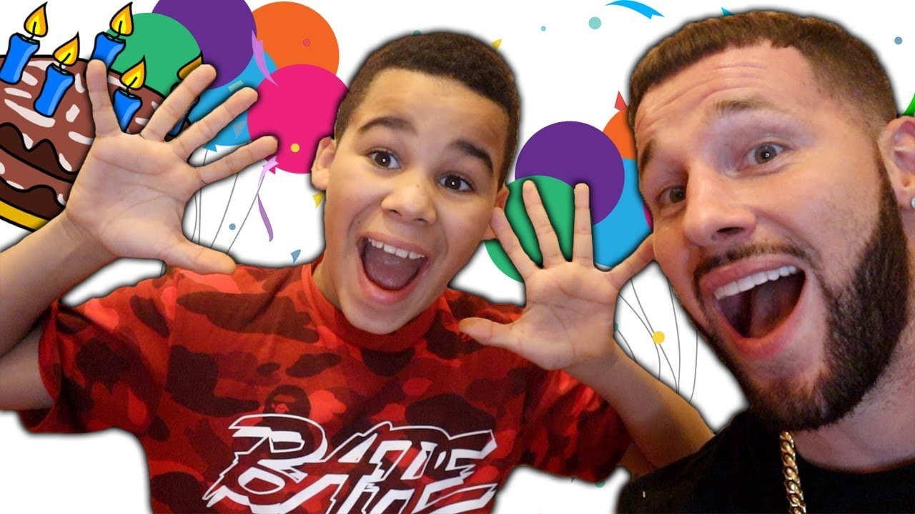 Kameiros 10th Birthday Party | FamousTubeKIDS