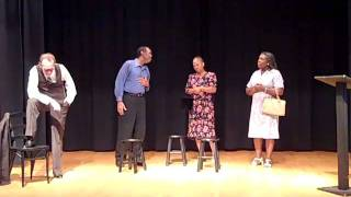 Touring Theatre of NC Rehearsal Clips: Fannie Lou Hamer