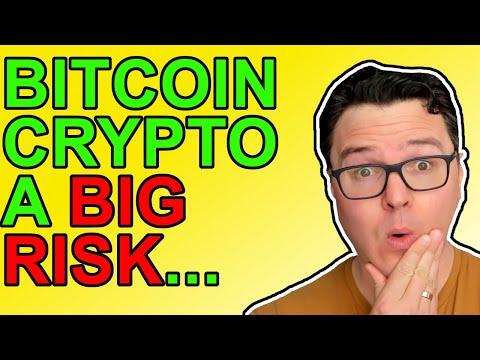 Bitcoin & Crypto A MAJOR RISK!!!