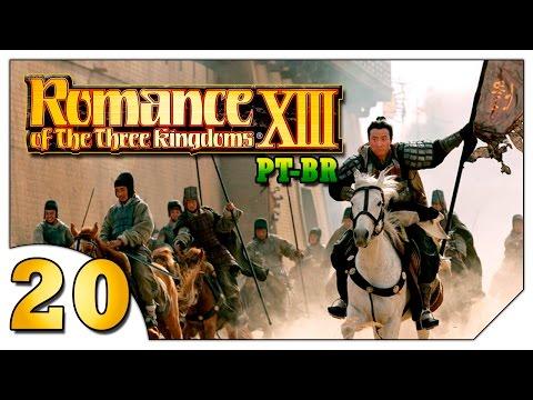 Romance of the Three Kingdoms XIII #20 (VAMOS JOGAR) Cao Cao sofrente [Gameplay Português PT-BR]