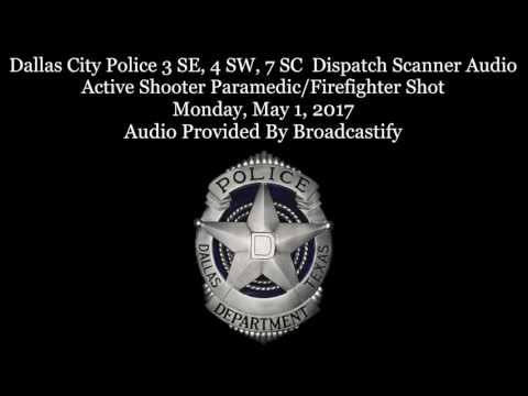 Scanner audio: Dallas Fire-Rescue paramedic shot