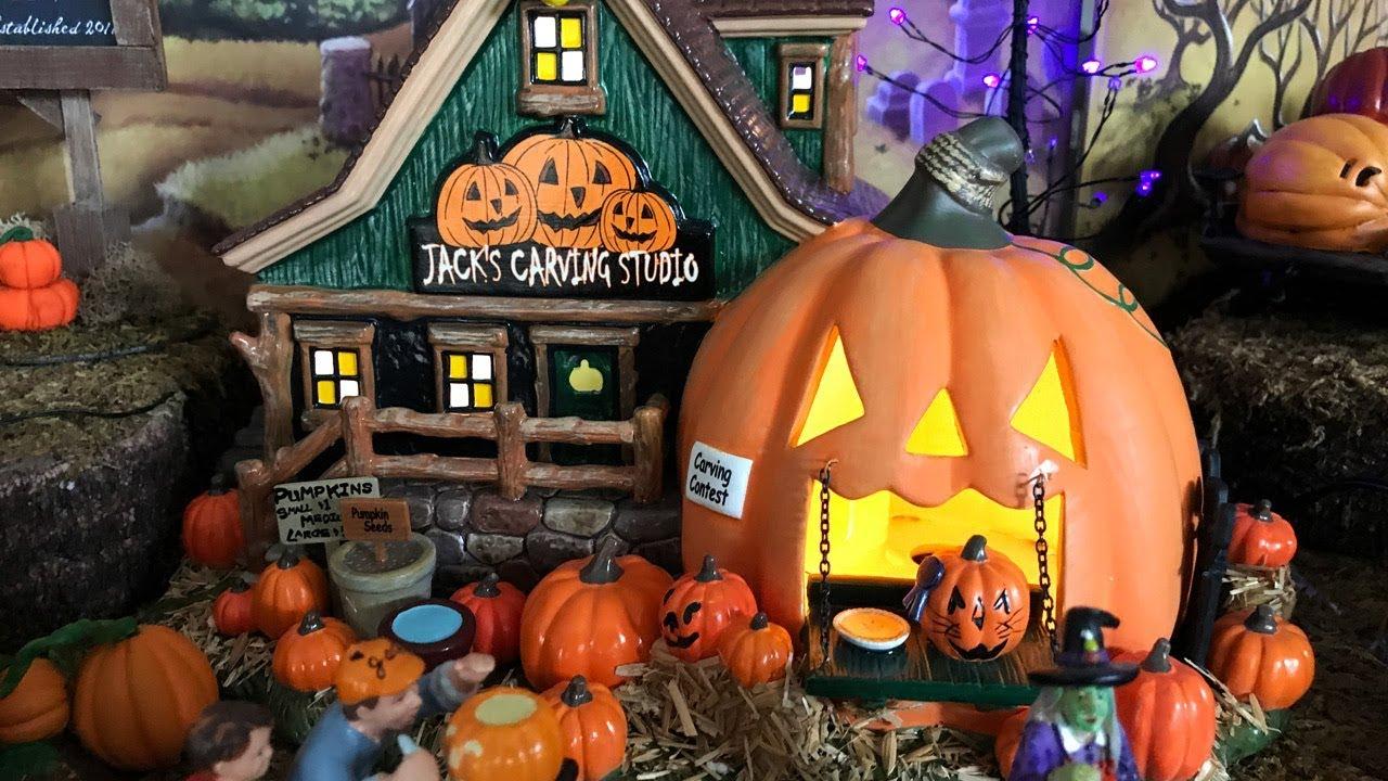 Department 56 Jack S Pumpkin Carving Studio Review Youtube