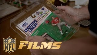 Starting Lineup Collectibles with Cris Collinsworth, Steve Young, Dan Fouts, & Pat McInally