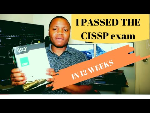 HOW I PASSED THE CISSP IN 12 WEEKS | And Tips For You.