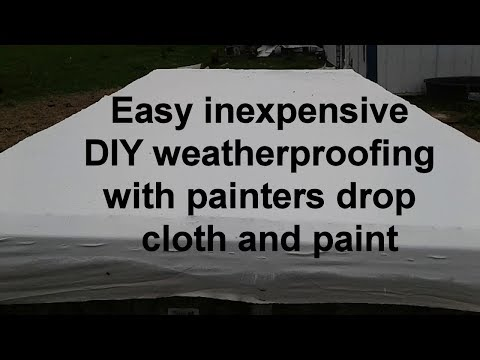 The lost art of hardened canvas weather sealing for wood easy diy