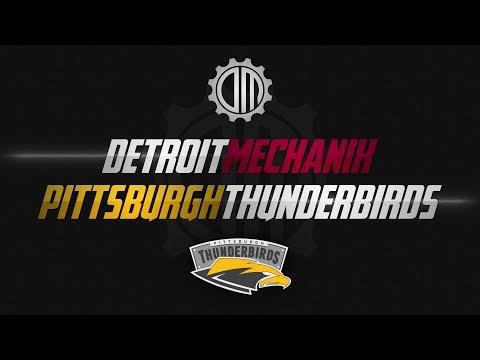 Detroit Mechanix vs Pittsburgh Thunderbirds