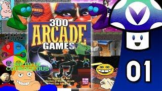 [Vinesauce] Vinny - Cosmi Software: 300 Arcade Classics (part 1)