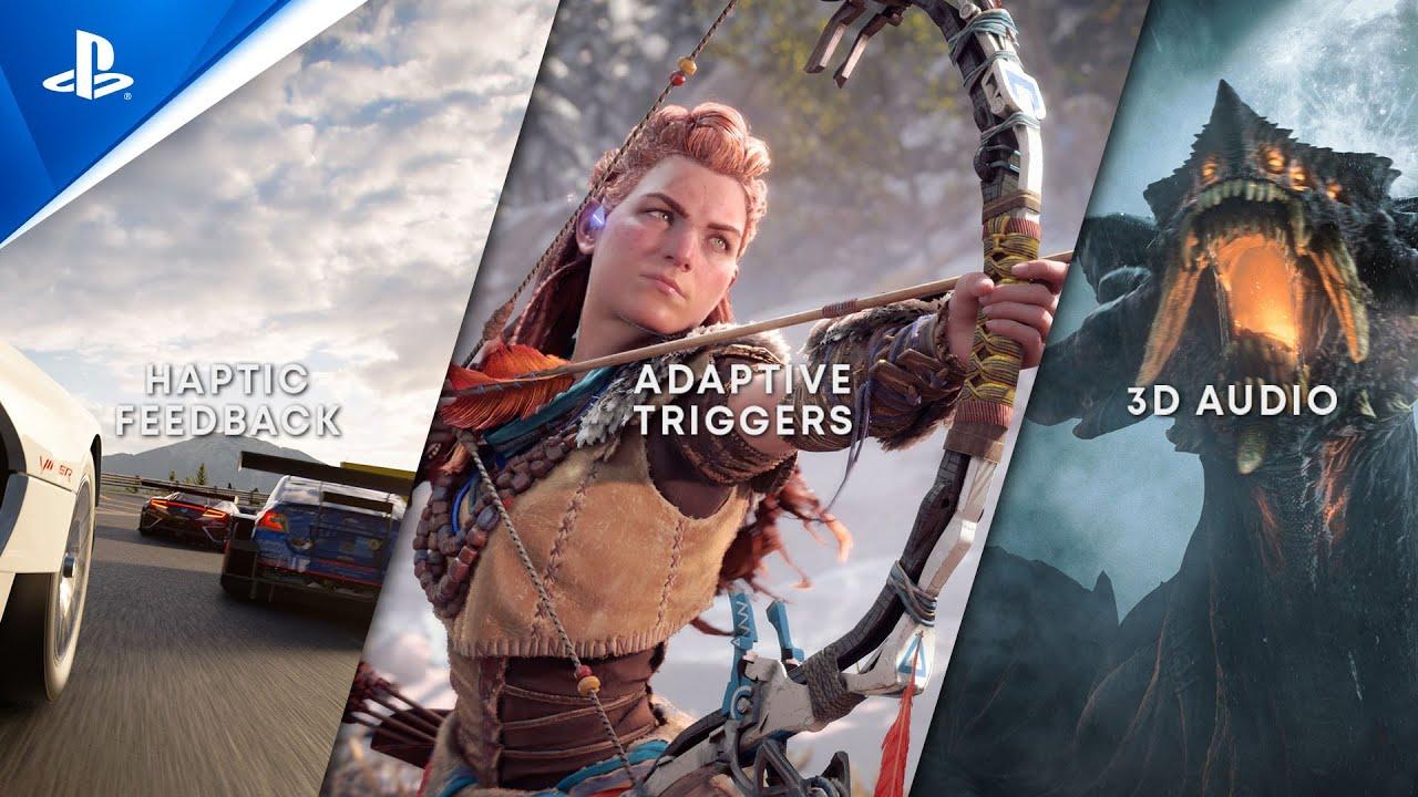 感受 PS5 身歷其境的遊戲體驗