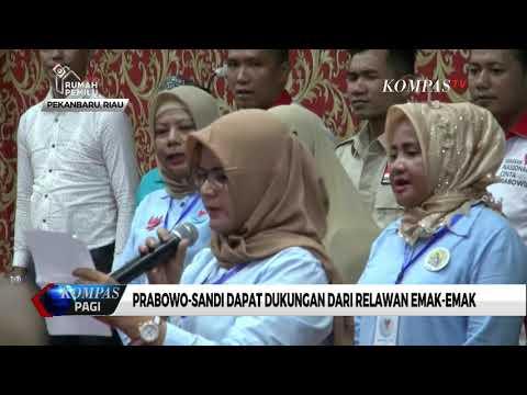 Prabowo-Sandi Dapat Dukungan dari Relawan Emak-Emak Mp3