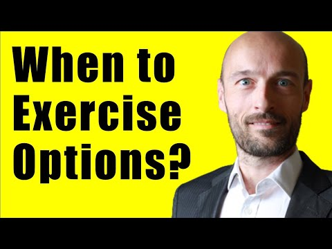 When Should I Exercise an American Stock Option - Finance Tutorial