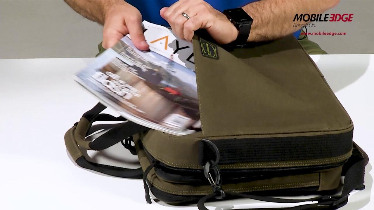 Me Mobile Edge Eco Briefcase