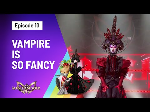 Vampire's 'Fancy' Performance - Season 3   The Masked Singer Australia   Channel 10