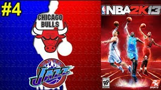 NBA 2K13 #4    Chicago Bulls - Utah Jazz (Finales 1998)    Montes, Daimiel y Slobulus (en español)