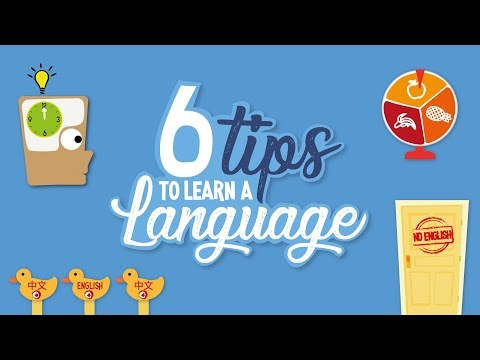 Tips to learn languages
