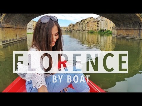 Florence Boat Ride on the Arno River -- Amazing!