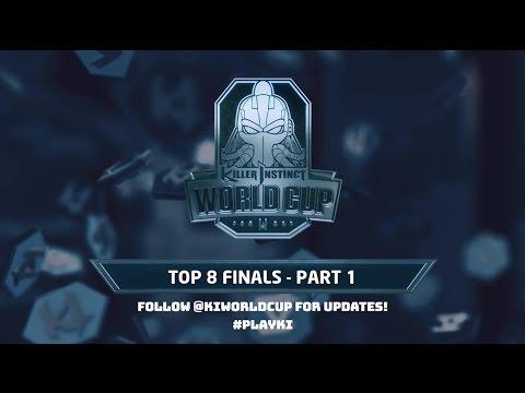 Killer Instinct World Cup 2017 - Top 8 Finals - Part 1