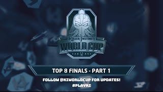 Killer Instinct World Cup 2017 - Top 8 Finals - Part 1