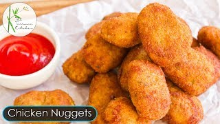 Chicken Nuggets Recipe | How to make Chicken Nuggets | Homemade Chicken Nuggets ~The Terrace Kitchen