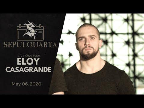 SepulQuarta - LIVE Q&A with Eloy Casagrande (May 06, 2020 | Sepultura #003)