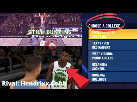 Download DECIDING WHICH COLLEGE TO GO TO| DUNKING WITH A INJURED KNEE | MyCareer Episode: 5