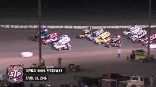 Highlights: World of Outlaws STP Sprint Cars Devil's Bowl Speedway April 18th, 2014