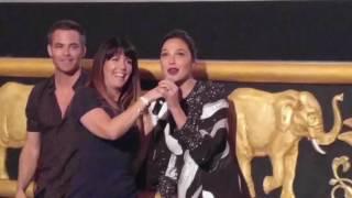 Gal Gadot and Chris Pine Surprise Fans At Wonder Woman Screening (Best Version Yet)