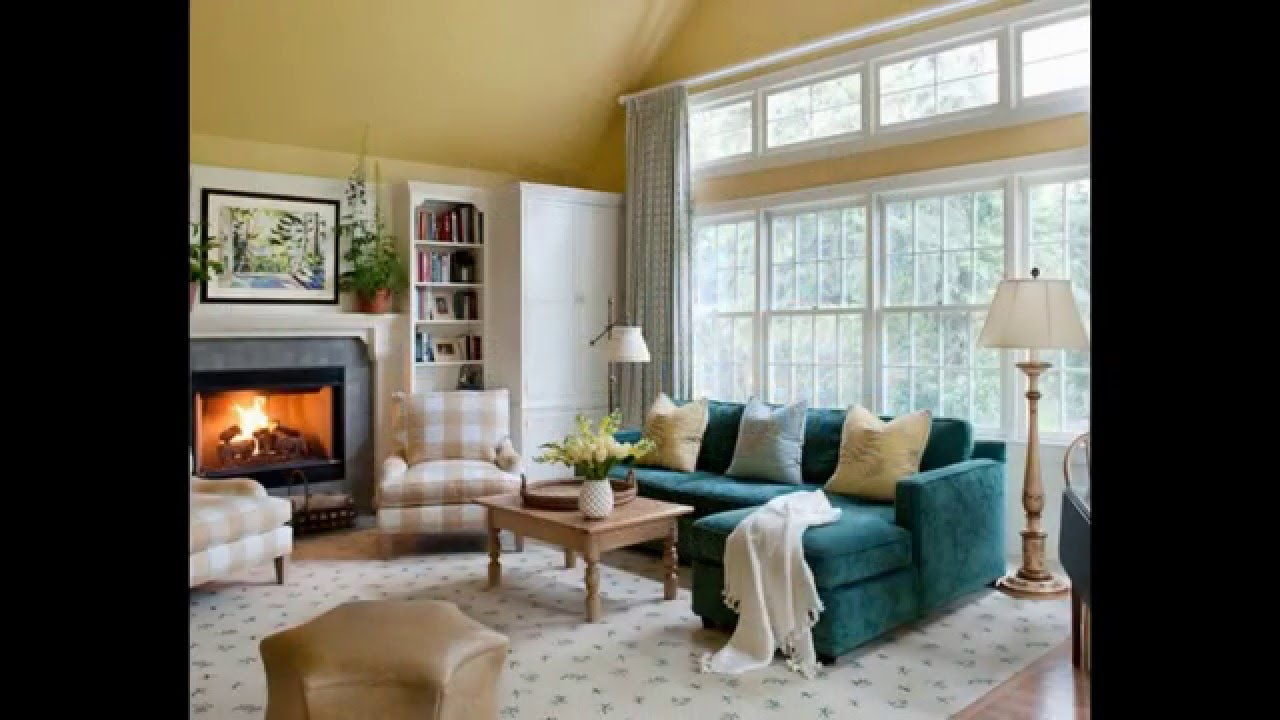 48 Living Room Design Ideas 2016 - YouTube on Room Decor Ideas id=98955
