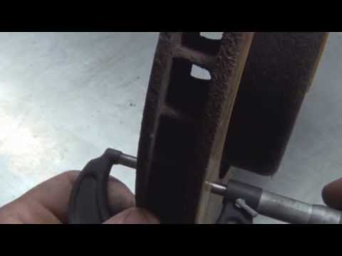 How to measure Brake Rotors and how to use a micrometer measure brake rotors