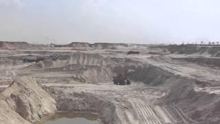 قناة السويس الجديدة : مشهد عام للحفر 14أكتوبر 2014
