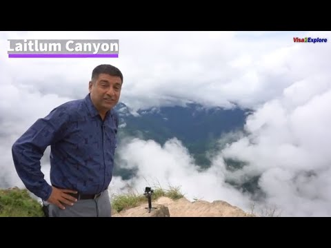 Shillong, Meghalaya Episode 9 , Laitlum Canyon, Umiam lake & amazing food