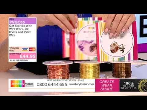 How to Make Beaded Jewellery: JewelleryMaker LIVE 5/03/2015