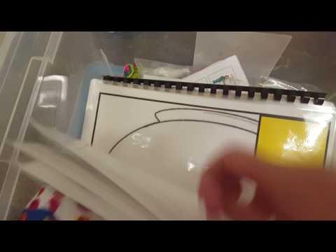 Preschool Organization: Ocean Theme Box