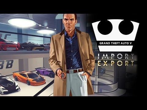 Jirka a MarweX Hraje - GTA V  Online - Import/Export [PC] [LIVE]