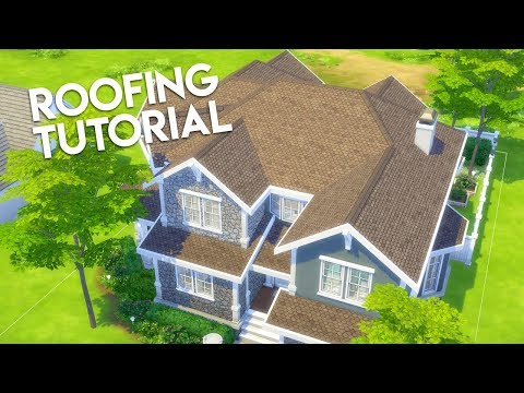 How to Make Better Roofs in The Sims 4 (Builder's Bible: Building Tutorial) thumbnail