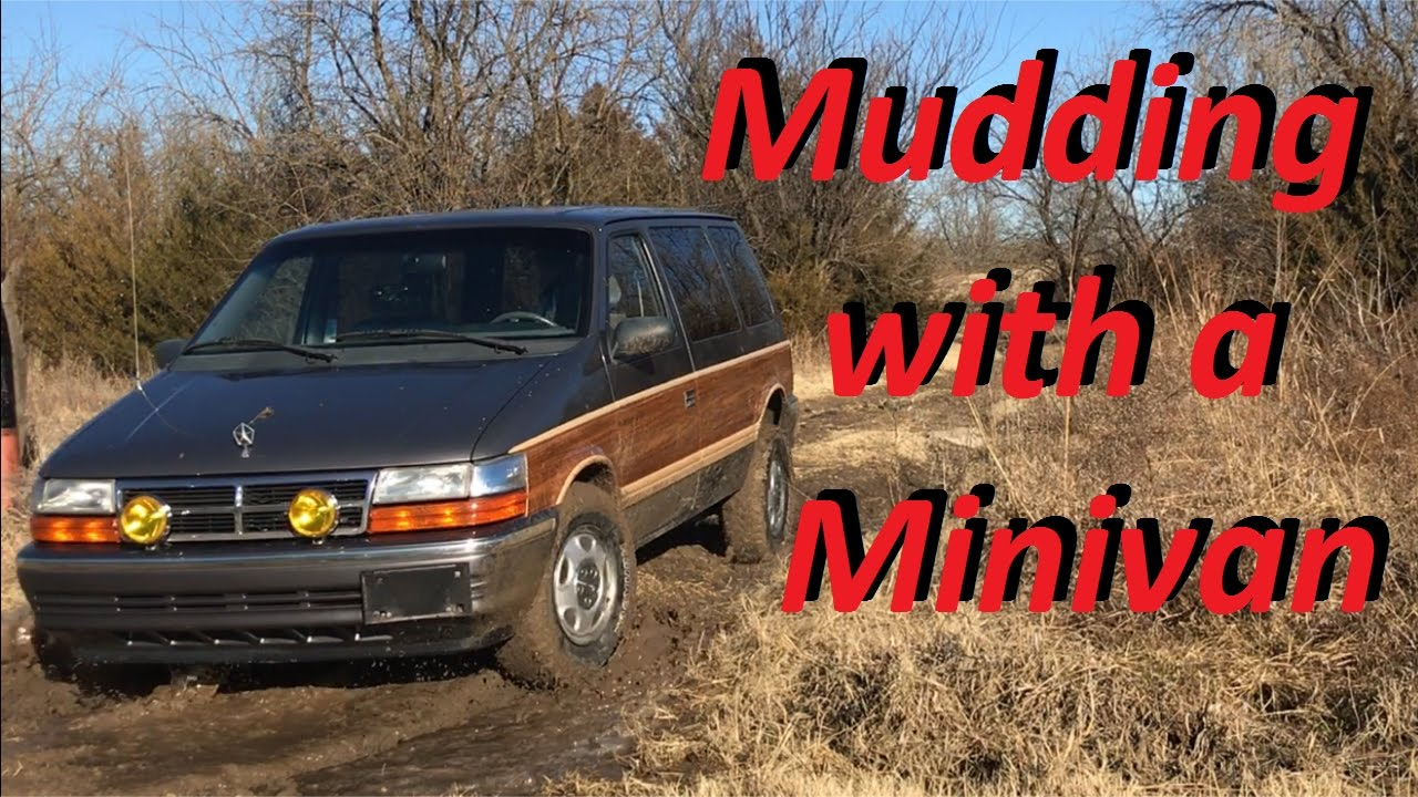 Mudding In My Minivan Mighty Van Update
