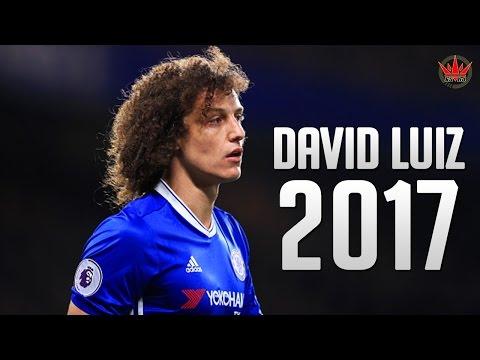 David Luiz ● The Warrior ● Crazy Defensive Skills 2017  HD