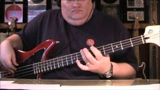 Alice Cooper Schools Out Bass Cover