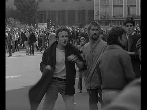 Book Fair, Peace Prize and Demonstration in Frankfurt (1968) | British Pathé