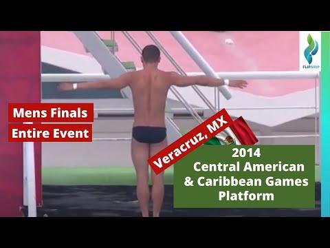 2014 Central American & Caribbean Games - Mens Platform Diving Prelims