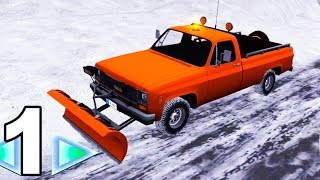Winter Ski Park Snow Driver (by Play With Games) Android Gameplay Trailer