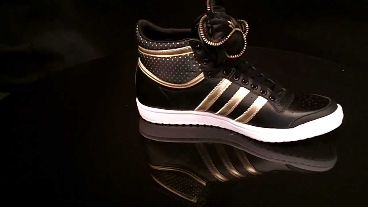 adidas top ten hi sleek w bow zip