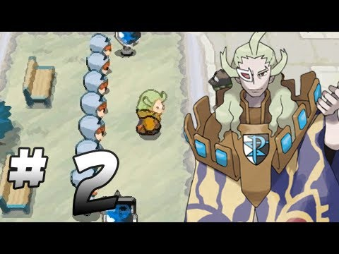 Let's Play Pokemon: Black - Part 2 - Accumula Town - YouTube
