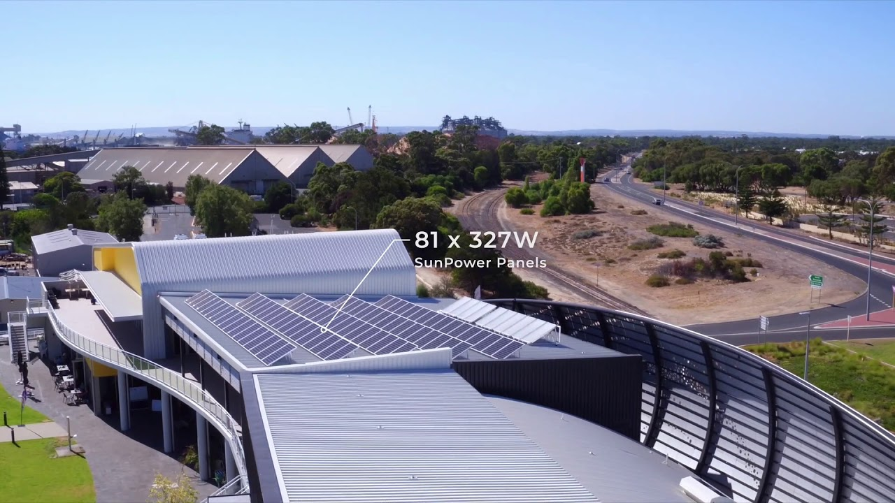 Infinite Energy | Dolphin Discovery Centre Solar Installation