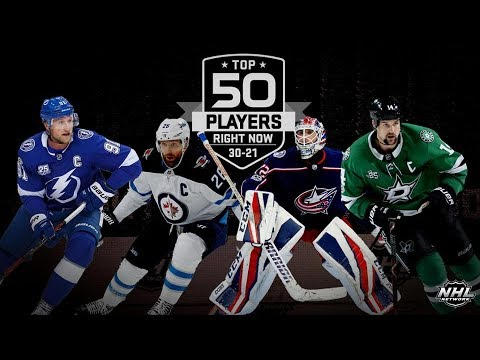 NHL Network`s  Top 50 Players Right Now:  30 - 21   Sep 16,  2018