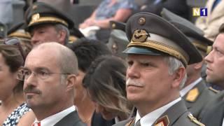 Zapfenstreich für Bundespräsidenten Heinz Fischer in Wien