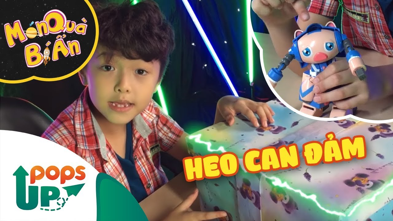 Món Quà Bí Ẩn Cùng Ben Lee - Tập 5 - Heo Can Đảm (Điều Ước Của Thỏ) - Đập hộp đồ chơi cực chất!!!