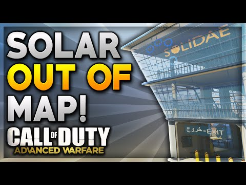 """Call Of Duty Advanced Warfare Glitches - NEW """"Solar Out Of Map"""" After Patch (COD AW Glitches)"""