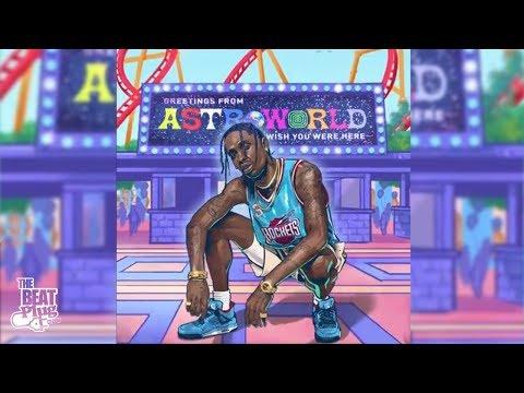 "Travis Scott Type Beat ""HoF"" ft. Kanye West Type Beat | Astroworld Type Beat"